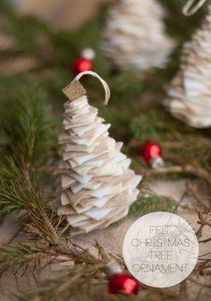 Felt Tree Ornament |