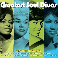 Various Artists - Greatest Soul Divas - 75 Original Recordings (Not Now ...