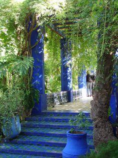 Majorelle Garden - Marrakech, Morocco