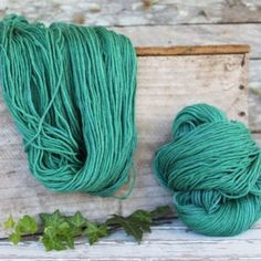 Harvest Wool by Timber and Twine 100% merino dyed botanically