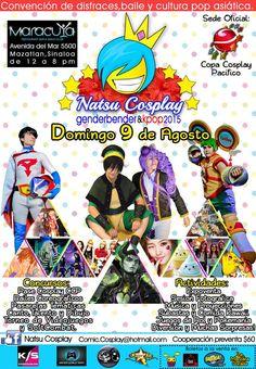 NATSU COSPLAY 2015 - Mazatlán, Sinaloa, México, 9 de Agosto 2015