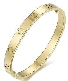Braclets Gold, Love Bracelets, Bangle Bracelets, Bangles, Cartier Nail Bracelet, Cartier Jewelry, Ring Bracelet, Cartier Love Ring, Cartier Gold
