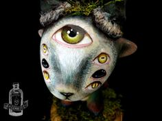 BEAST of the UNDERGROWTH artist designer vinyl figure surreal low brow kidrobot raffy munny by Saijanide