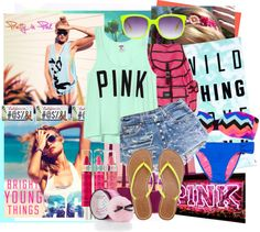 """""""pink"""" by defineme ❤ liked on Polyvore"""