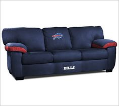 NFL Classic Sofa - Theater Seat Store - Buffalo Bills-If Brad let me get this couch I would buy it...but he would fight to have a Greenbay couch...LoL