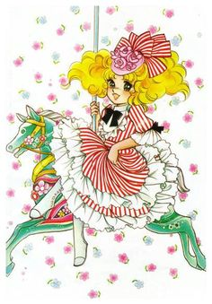 """I first discovered """"Candy Candy"""" by Igarashi Yumiko in first grade. I was obsessed with the art for years."""