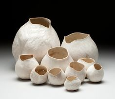 Christian Burchard these are wood but look much like what I make in clay