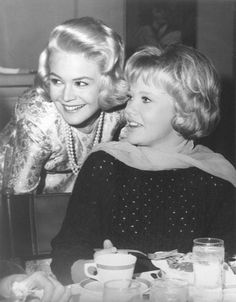 Sandra Dee and Hayley Mills  I love this picture. Two of my favorite actors when I was young.