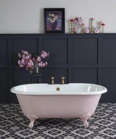 Pink bathing