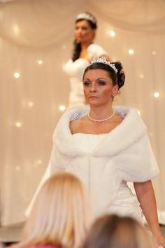 Stunning fur wraps, capes and jackets. www.bridalgallerycoventry.co.uk