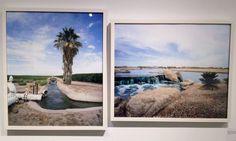 "Alison A. Smith ""AK Chin Farms I, Maricopa, AZ"" Archival Pigment Print, 2013 20""x 24"" ""The Lakes at Rancho El Dorado, Maricopa, AZ"" Archival Pigment Print, 2013, 20""x 24"" #art #landscape"
