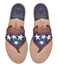 41a20022ca41 Exclusive Star Spangled Sandal Midnight - Jack Rogers USA Star Shoes