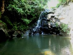 Goal Waterfall, North Maluku, Indonesia
