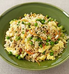 Healthy Easy Fried Rice! Only 4 WW Points Plus .... weight watchers, healthy and fried? Who knew those words went together!