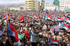 Yemen's southern separatists hit the headlines last week after swiftly capturing government institutions in the temporary coastal Aden city, but the movement has now declared plans to seize control of the entire southern region. Public Security, South Yemen, Government Camp, Southern Province, Prince Mohammed, Million Men, The Headlines, Jeddah