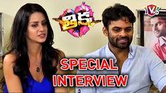 Sai Dharam Tej and Larissa Bonesi Special interview - Thikka Movie | Man...