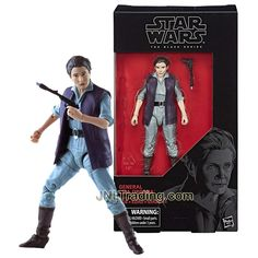Year 2017 Star Wars The Black Series 5-1/2 Inch Tall Figure #52 - General LEIA ORGANA with Blaster