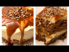 مطبخ هبه نحاس حلبي - YouTube Almond Cookies, Carrot Cake, Cupcake Cakes, Cake Recipes, Food And Drink, Make It Yourself, Cooking, Ethnic Recipes, Desserts