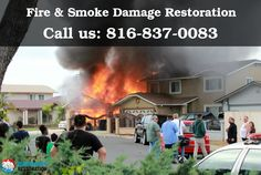 We provide 24/7 emergency fire and smoke damage restoration services. Call us 816-837-0083