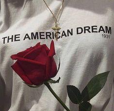 american dream, dark, flower, grunge, outfit on We Heart It Soft Grunge, Black Grunge, Looks Style, My Style, Marina And The Diamonds, No Rain, White Aesthetic, Aesthetic Grunge, Aesthetic Roses
