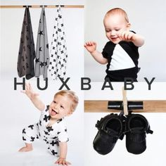 Calling all monochrome fans!!! Oooooooh Love love loving this brand called Hux Baby. It is all about mainly unisex designs, organic cotton and bold funky prints. Featured on Baby Berry http://www.babyberry.co.nz/home/friday-s-feature-huxbaby/
