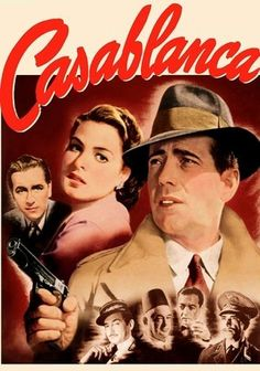 Casablanca (1942) In this Oscar-winning classic, American expat Rick Blaine (Humphrey Bogart) plays host to gamblers, thieves and refugees at his Moroccan nightclub during World War II ... but he never expected Ilsa (Ingrid Bergman) - the woman who broke his heart -- to walk through that door. Ilsa hopes that with Rick's help, she and her fugitive husband (Paul Henreid) can escape to America. But the spark that brought the lovers together still burns brightly.