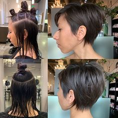 Best Short Layered Pixie Cut Ideas In every period of rapidly changing hair trends, short pixie cuts can be an excellent experience Layered Pixie Cut, Pixie Cut Blond, Short Blonde Pixie, Short Pixie Haircuts, Pixie Hairstyles, Short Hair Cuts, Short Hair Styles, Fashion Hairstyles, Latest Hairstyles