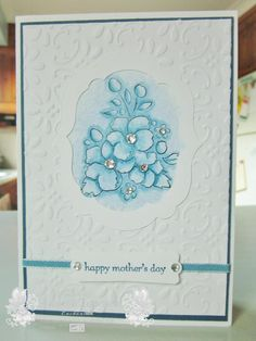 Handmade Mother's Day Card ... Blog: EnchantINK ... Stampin' Up! - Bordering on Romance