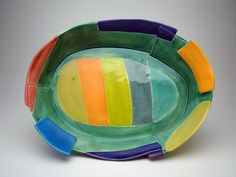 Oval Serving Dish • Judith Salomon  She is so talented and happens to be a lovely person as well! A Clevelander!