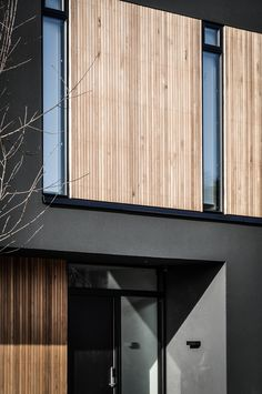 VILLA S   N+P ARKITEKTUR Facade Design, Exterior Design, Design Hotel, Mews House, Contemporary Style Homes, Virginia Homes, Timber Frame Homes, Facade House, New House Plans