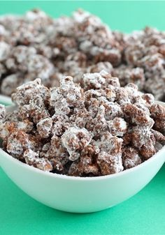 "If you're a fan of Puppy Chow (who isn't?), then you'll love ""Poppy Chow"". It may be even more addicting than the original! You've been warned."
