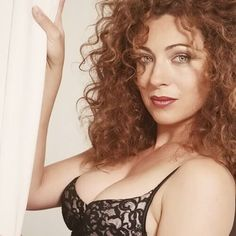 Alex Kingston - one of the actress options for Scotty's wife! RE-PIN.