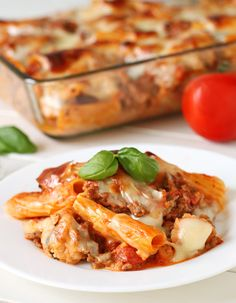 Baked rigatoni. #food I want to have this for dinner sometime