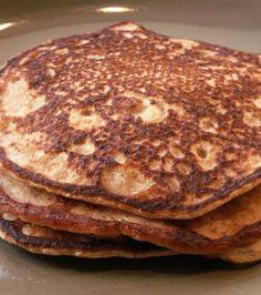 Tender Whole Wheat Yogurt Pancakes