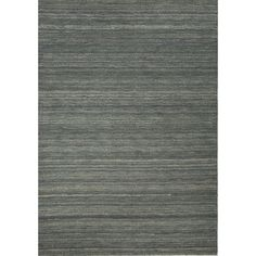 Boasting casual appeal, this wool rug will give any home a welcoming touch. This rug showcases a solid pattern with blue shades.