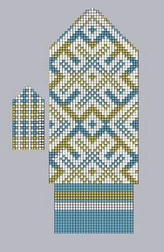 Knitted Mittens Pattern, Fair Isle Knitting Patterns, Fair Isle Pattern, Knit Mittens, Knitting Charts, Knitted Gloves, Hand Knitting, Crochet Patterns, Fair Isle Chart