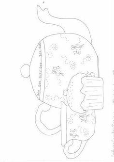 Sewing | Embroidery | Pattern | Tea