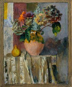 Asters and Hydrangeas, Vanessa Bell