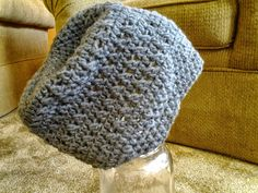 Slouchy Hat by CuddleinCrochet on Etsy