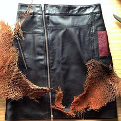 ver con todo lujo de detalles la textura , leather, la artesanía hecha a mano