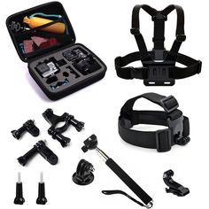 GoPro Hero Case and Accessories -- stocking stuffers for men who travel Christmas gift ideas.jpg