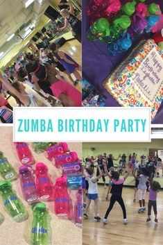 Zumba birthday party invitation for kids httpsetsy a zumba birthday party stopboris Images
