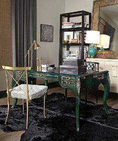 green desk--- amazing