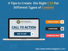 4 Tips to Create the Right CTA for Different Types of Content http://feedproxy.google.com/~r/SocialMediaEnthusiasts/~3/JhIN99s8-RI?utm_source=rss&utm_medium=Send+Social+Media&utm_campaign=RSS