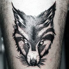 Discover a strong and canny spirit with these fox tattoo designs for men. Explore cool ink inspiration with small bodies and bushy tails in the wild. Fox Tattoo Men, Small Fox Tattoo, Fox Tattoo Design, Tattoo Design Drawings, Tattoo Designs Men, Deer Tattoo, Raven Tattoo, Tattoo Ink, Tattoos Arm Mann