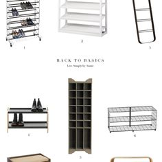 8 Totally Great (Non-Ugly) Shoe Racks