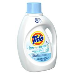 Tide Free and Gentle High Efficiency Liquid Laundry Detergent - 100 oz : Target