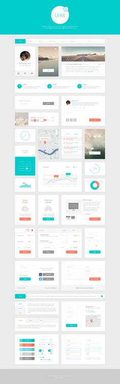 REcursos: Alpha UI Kit Web Elements 1 in User Interface Interaktives Design, App Ui Design, Dashboard Design, Mobile App Design, Site Design, Flat Design, Wireframe Design, Analytics Dashboard, Gui Interface
