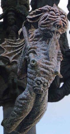 Le diable du calvaire de Saint Herbot