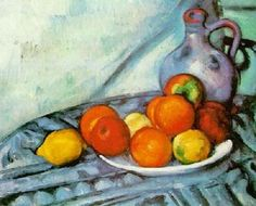 Paul Cezanne, I love his still-life's, his landscapes and portraits. He is why I became a painter. He made me see.